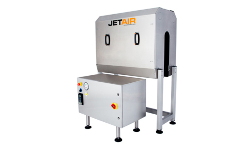Blower Powered Air Knives : Jetair blowers systems finnpackers